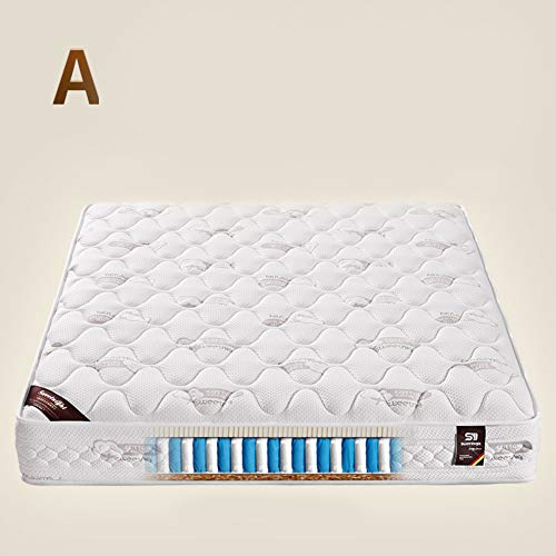 Check Out This QYN Thicken Emulsion Coir Mattress,Elasticity Noise Reduction Floor Mattress Futon Ma...