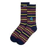 Santa Cruz Screaming Mini Hand Stripe Socken – Navy Stripe