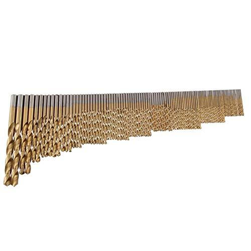 CHENTAOMAYAN Bien Hecho 105pc Brocas Conjunto de Acero Inoxidable y del HSS-Co Cobalto Titanio bit Accesorios duraderos