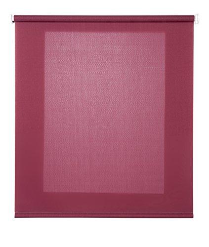 Estores Basic- Enrollable Traslúcido , Burdeos, 150x175 cm