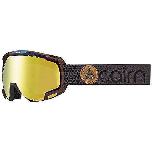 Cairn Unisex skibril zwart mat Mercury Black Wood SPX3000 IUM