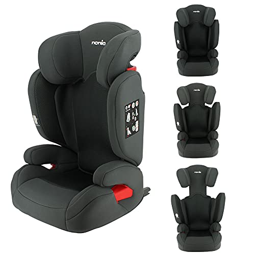 Silla de coche FLASH Isofix y/o cinturón del grupo 2/3 (15-36 kg) con protección lateral y respaldo reclinable