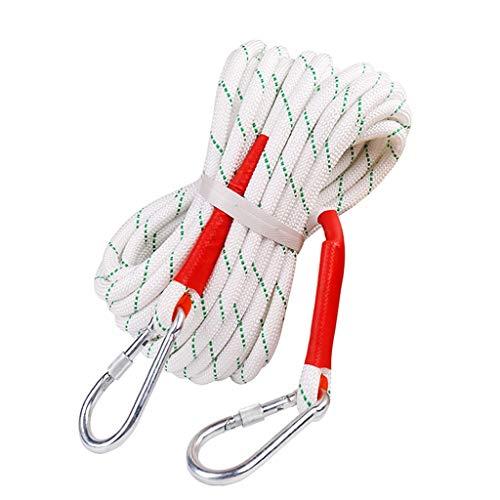 LYM-Rope Corde d'escalade, 10 Mètres, 20 Mètres De Diamètre, 18 Mm De Diamètre, Équipement De Secours pour La Descente De Secours en Montagne (Taille : 10m)