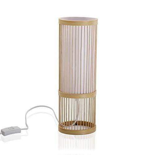 Versa Tafellamp, bamboe, decoratie en meubels, uni, meerkleurig (meerkleurig)