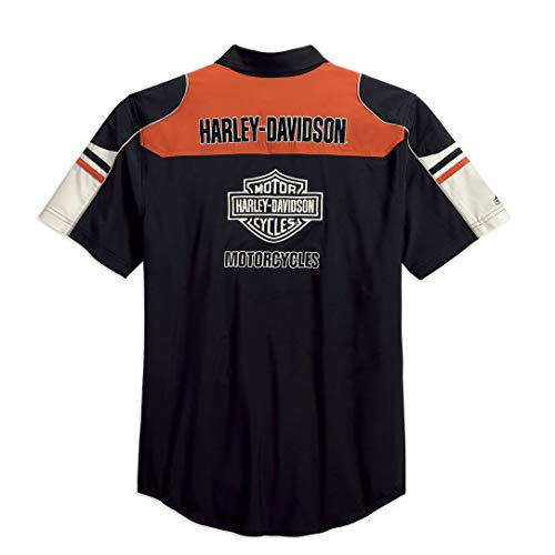 Harley Davidson Colorblock Shirt met CoolcoreTechnology 99189-19VM voor heren