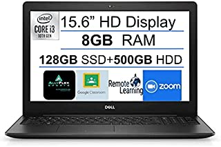 """2021 Newest Dell Inspiron 15 3000 Business Laptop 15.6"""" HD Display, Intel 10th Gen Core i3-1005G1(Up to 3.4GHz), 8GB DDR4 ..."""