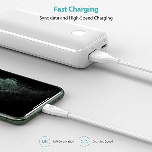 iPhone Ladekabel UNBREAKcable Lightning Kabel - 2m Syncwire [Apple MFi Zertifiziert] Premium-Materialien Super Schutz USB Datenkabel für iPhone SE 2020 11 Pro XS Max X XR 8 7 6s 6 Plus 5s 5c 5 SE iPad