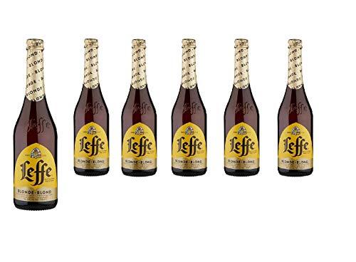 Leffe Blonde Abbey Bier (Packung mit 6 x 750 ml)