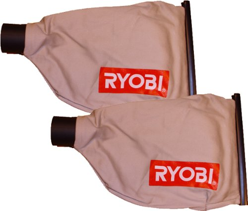 Ryobi JM82K Biscuit Joiner Replacement Dust Bag Assembly (2 Pack) # 300027046