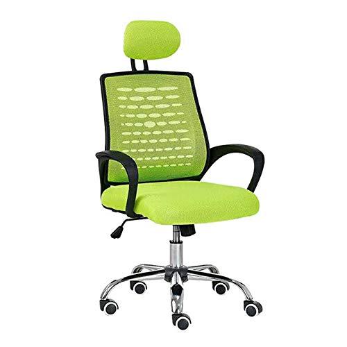 Silla de escritorio Silla cómoda y simple elevación silla de oficina con silla de la computadora de la cintura soporte y reposabrazos silla del acoplamiento Conferencia Oficina para la Oficina de Trab