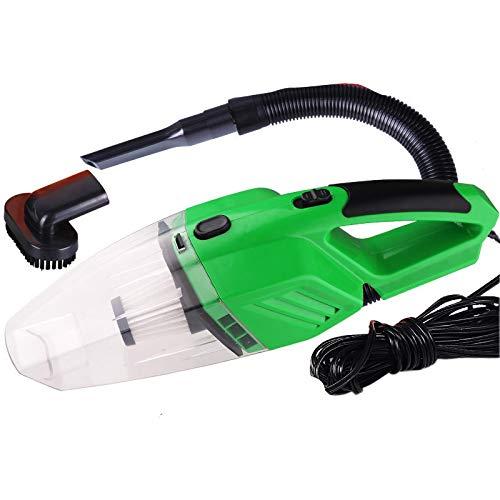 BNMMJ Mini-Auto-Staubsauger mit hoher Saugkraft tragbarer Handstaubsauger für die Reinigung von Autos und Haushalten trocken und nass