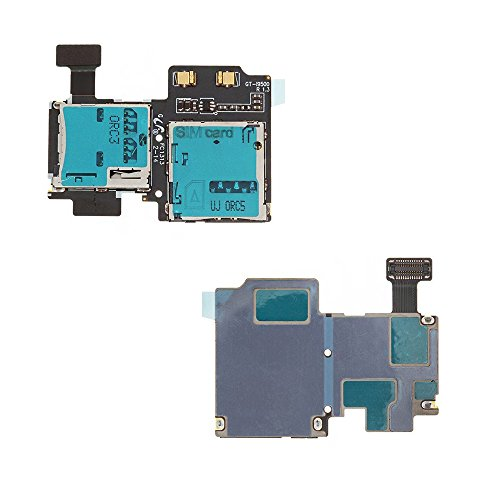 Kaartlezer voor Samsung GT i9505 Galaxy S4 LTE i 9505 kaartlezer kaartlezer kaartlezer kaartslot garantie reserveonderdelen reparatie