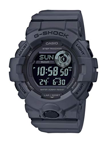 CASIO Herren Digital Quarz Uhr mit Resin Armband GBD-800UC-8ER