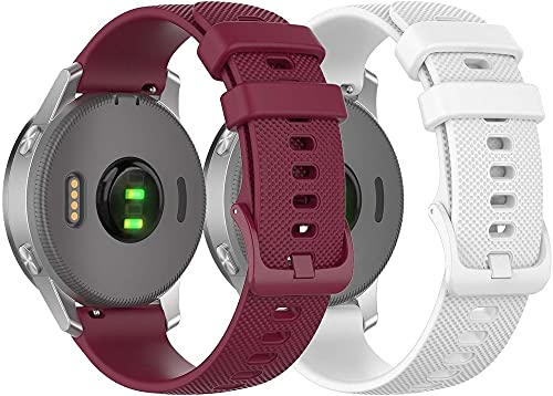 Chainfo Correa de Reloj Compatible con Galaxy Watch 46mm / Galaxy Watch 3 45mm, Silicona Correa Reloj con Acero Inoxidable Hebilla desplegable (22mm, Pattern 7+Pattern 9)