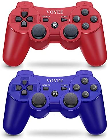 VOYEE Wireless Controller Gamepad with Upgraded Joystick Compatible with Sony Playstation 3 product image