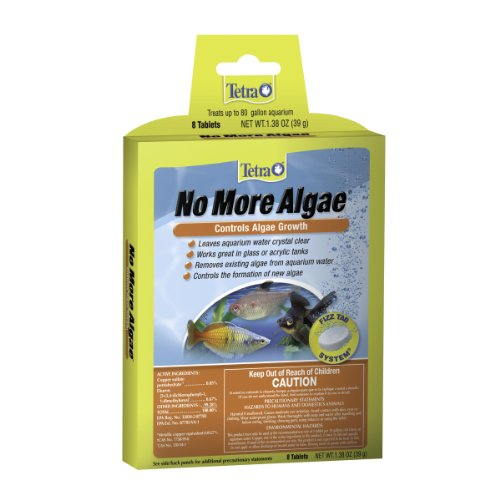Tetra No More Algae Tablets 8 Count, Controls Algae In aquariums