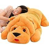 WJTMY Plüschtier, niedliche Cuddly Gefüllte Hund Plüschtier, Entzückende Golden Retriever Kuscheltiere, Geburtstags-Geschenk for Kinder, Baby (Size : 80cm)