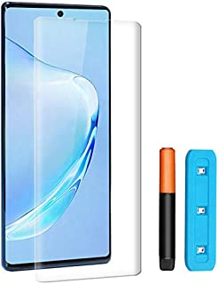 Härdat Glas För Samsung Galaxy Note 10, Skärmskydd, Skärmskydd, UV-Kit, 3D Böjd För Samsung Galaxy Note 10