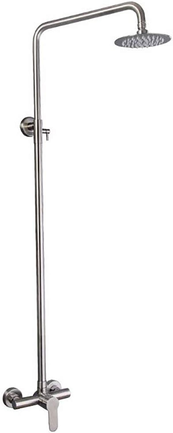 Bathhouse Shower Ming-mounted Lift 304 Stainless Steel Is Available In Public Shower Suit (Size   6 inches)
