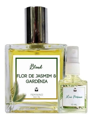 Perfume Flor de Jasmim & Gardênia 100ml Feminino - Blend de Óleo Essencial Natural + Perfume de presente