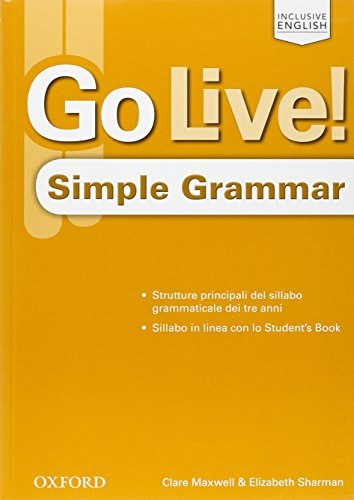 Go Live! 1-3: Simple Grammar - Book [Lingua inglese]