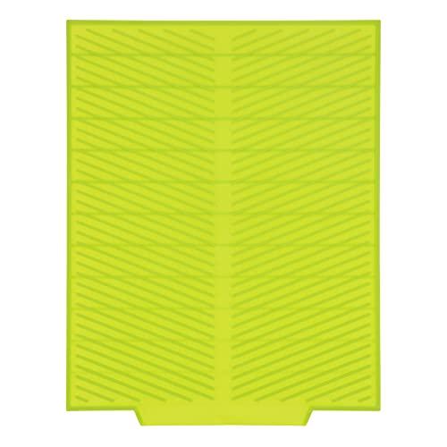 Alvinlite Tapete de Silicona, tapete Multiusos para secar Platos de Cocina para mostrador(A-Verde)