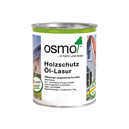OSMO Holzschutz Öl-Lasur 750ml Farblos Matt 701