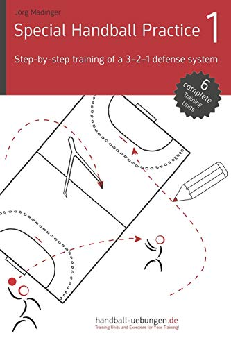 Special Handball Practice 1 – Step-by-step training of a 3-2-1 defense system