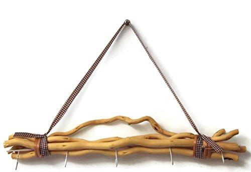 Cepewa Bada Bing Weidenzweige 5 Haken Natur BEIGE gebunden zum Aufhängen Naturprodukt Dekobündel Wanddeko 589