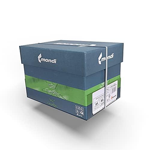 IMBALLAGGI 2000 - Risma A4 Carta Bianca 1 Box da 5 Risme da 500 Fogli - Adatta per Stampante e Fotocopie - Indispensabile in Ufficio