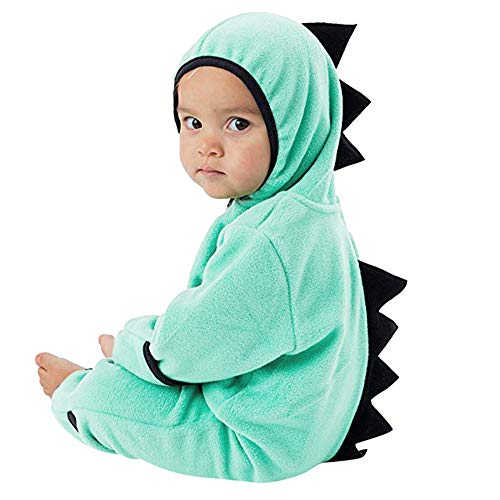 Best Review Of Woaills-Tops 2018 New!!Infant Toddler Zip Clothes Jumpsuit,Baby Girls Boys Dinosaur H...