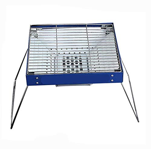 Buy Zjnhl Family Gathering/Small Barbecue Charcoal Grill Stainless Steel Folding Outdoor Grill 3-5 P...