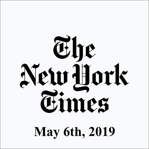 May 6, 2019 copertina