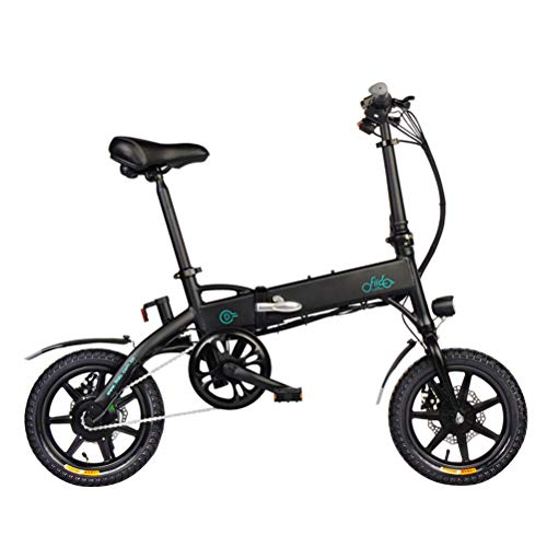 FIIDO Bicicleta Eléctrica 14 Pulgadas 250W Bicicleta Eléctrica Plegable 36V 25KM/H Bici Electricas Adulto 3 Modos de Conducción