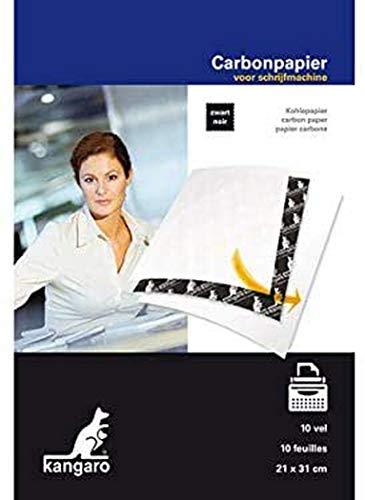 Kohlepapier Kangaro A4 21x31 Kangaro 10 Blatt schwarz, K-7800966