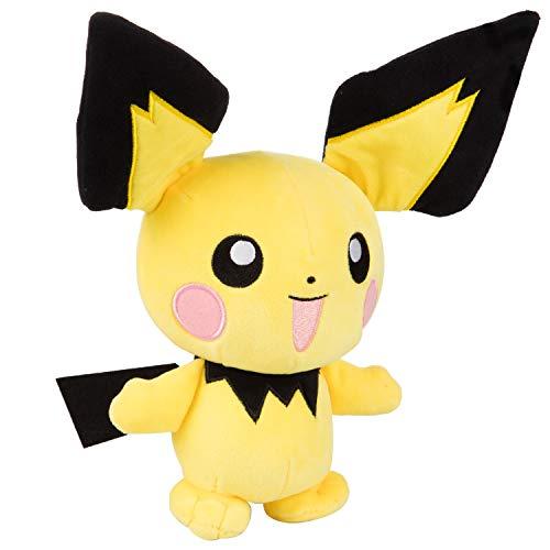 "Pokémon Pichu Plush Stuffed Animal Toy - 8"" - Age 2+"