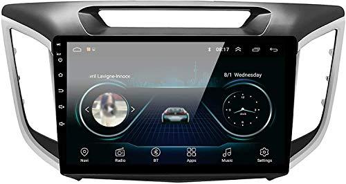 JALAL Unidad Principal de navegación GPS Android 8.1 para Hyundai Creta IX25 2014-2018 Pantalla táctil capacitiva de 10,1'Radio de Coche Estéreo Control de teléfono Reproductor Multimedia