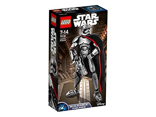 LEGO Star Wars Buildable Figures 75118 - Captain Phasma, 7-14 Anni