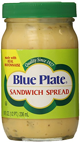 Blue Plate Sandwich Spread, 8 Ounce Jar (Pack of 12)