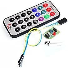 FicBox CTYRZCH HX1838 Infrared Remote Control Module IR Receiver Module DIY Kit HX1838 for Arduino Raspberry Pi