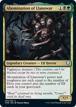 Magic: The Gathering - Abomination of Llanowar - Commander Legends