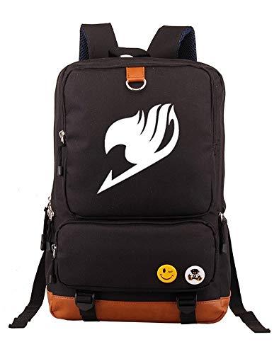 Gumstyle Fairy Tail Schulrucksack / Laptop-Rucksack, schwarz (Schwarz) - PHF1A538-1