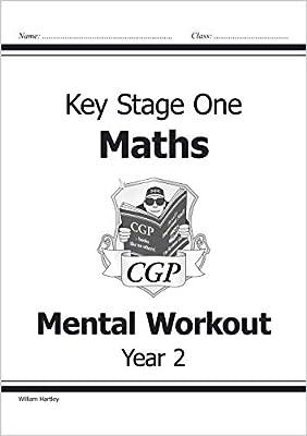 KS1 Mental Maths Workout - Year 2 (CGP KS1 Maths) from Coordination Group Publications Ltd (CGP)