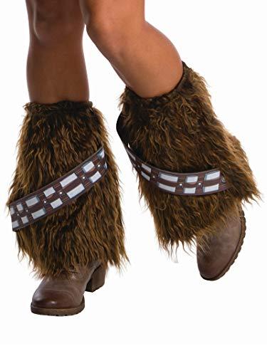 Rubie's Adult Star Wars Faux Fur Chewbacca Legwear brown One Size