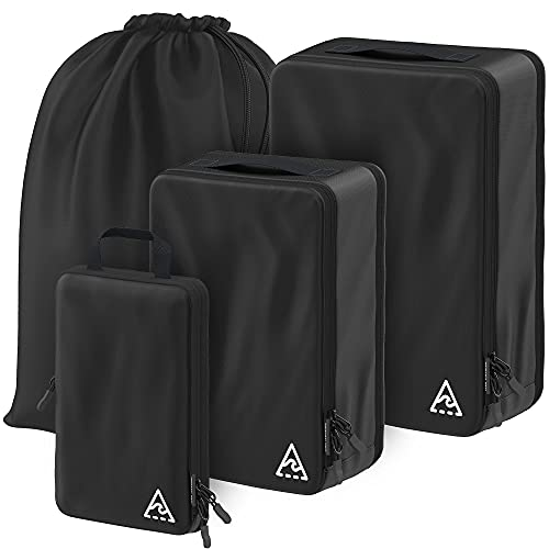 Well Traveled Packing Cubes (4-piece, Black)