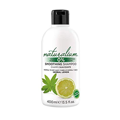 Naturalium Shampoo Weichspüler ohne Parabene 400ml Shampoo - Zitrone weiß