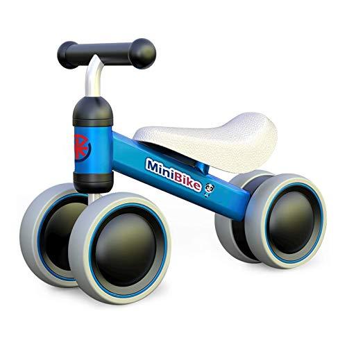 XIAPIA Bicicleta sin Pedales para Niños Triciclos Bicicleta Bebe 1 Año Juguetes Bicicleta Equilibrio 1 Año Bici sin Pedales Infantil de Regalo Favorito del Niño