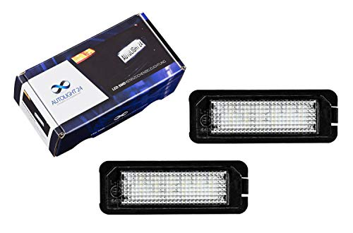 VW Touareg 7L7 White LED /'Trade/' Wide Angle Side Light Beam Bulbs Pair Upgrade