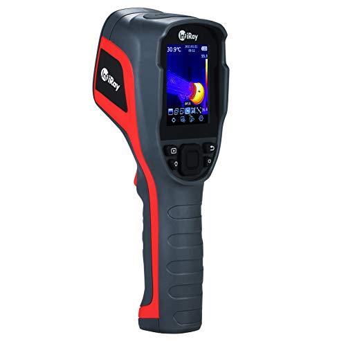 Cámara termográfica infrarroja IR de mano KKmoon -20 ℃ ~ + 550 ℃ Termómetro infrarrojo con pantalla a color de 2,8 pulgadas con tarjeta de almacenamiento de 16G Cámara termográfica Compatible