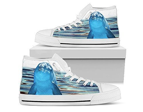 Dolphin Hi Top Shoes, Dophin Shoes